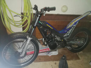 2010 sherco 290 trials bike