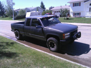 For Sale 1994 GMC Sierra 1500 4 X 4 Asking $3800.00