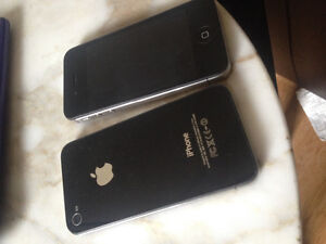 2 iPhone 4. Great shape no scratches!
