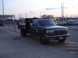 1997 Ford F-350 Pickup Truck Crewcab