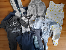 Baby boys clothes bundle 0-6m