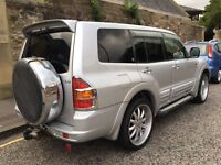 MITSUBISHI PAJERO 3.2 DID EXCEED 4x4 DIESEL AUTOMATIC PX SWAP
