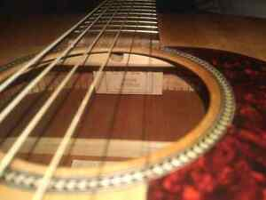 Martin ooom acoustic guitar trade for good quality drums  Cambridge Kitchener Area image 5