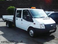 Ford Transit 125 T330 RWD Double Cab Dropside Pickup