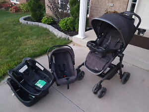Lux Car Seat / Stroller Set with 2 car bases