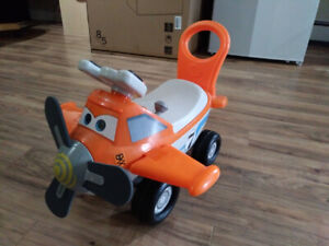 Dusty ride-on toy