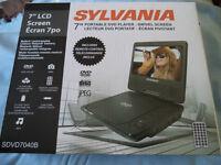 Sylvania Portable DVD Player - $65