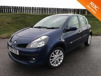 2007 RENAULT CLIO DYNAMIQUE 1.5 DCI - 79K MILES - F.S.H - 5 STAR SAFETY RATING - 3 MONTHS WARRANTY