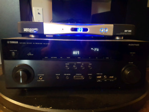 Receiver and surround sound speakers