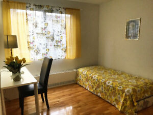 *Nice Furnished room for rent in NDG**.