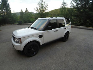 Retour de location Land Rover LR4