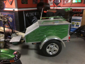 2013  motorcycle trailer.