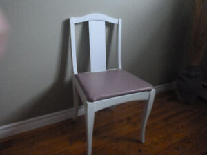Chairs-Painted off white.