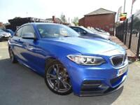BMW M240I AUTO FANTASTIC CONDITION / LOTS OF EXTRAS / LOW MILES JUST 7,000
