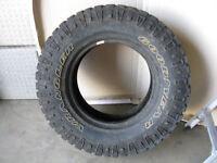 One LT285/70R17 Goodyear Wrangler Duratrac Tires