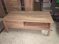 Oklahoma 2 Drawer Coffee Table In OAK effect