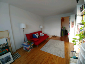 3 1/2 near Metro Rosemont Available March 1st
