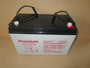 135AH 12V GEL Deep Cycle  Battery  for Solar, Camping. 2Year WTY* Southport Gold Coast City Preview