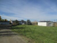 Carstairs/Cremona 3 acres with Home, Garage & Barn For Sale