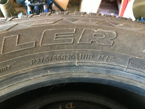 Goodyear Duratrac LT265/70R17 pretty close to brand new