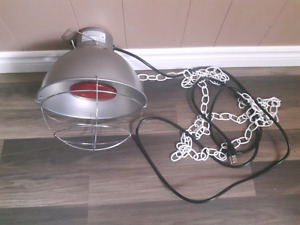 Heat lamp with bulb