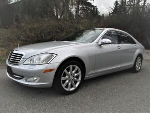 2007 Mercedes-Benz S550 Sedan, Leather/panoramic roof