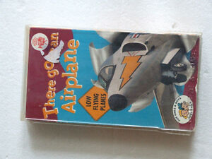 THERE GOES AN AIRPLANE- VHS -CHILDREN'S & FAMILY