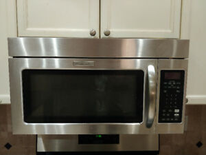 KitchenAid Microwave Hood Fan