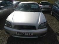 2003 SUBARU LEGACY 2.5 GX 4dr TRADE IN TO CLEAR,,,995