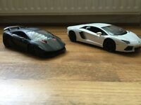 **As New Remote Control (R/C) Lamborghini Cars**