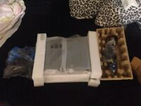 PS3 with box 2 controllers 43 games