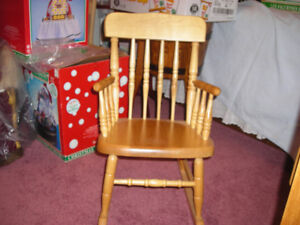 Bass River (Dominion Chair Company) Child's Rocking Chair