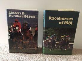 26 Racing memorabilia books 1977-1989 time form books