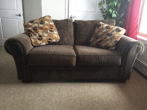 "Loveseat with matching ottoman ""Great Condition"""