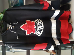 Team Canada Hockey jersey.