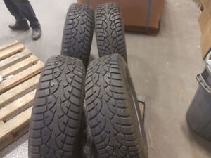 Winter tires with rim used only 1 winter