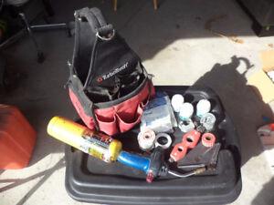 TubotorchPlumbers bag plus supplies