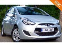 2011 11 HYUNDAI IX20 1.6 ACTIVE 5D AUTO 123 BHP AUTOMATIC LOW MILEAGE!