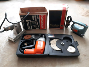 Vintage power tools.for sale.