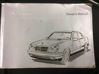 Mercedes Benz / Mercedes / Mercedes E class owners book