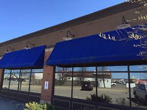 18' Commercial grade awning