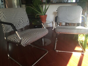 Vintage Chrome Chairs
