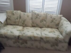 Selling Two Floral cream coloured sofas London Ontario image 1