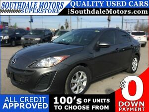 2011 MAZDA 3 I SPORT * 1 OWNER * POWER GROUP * LOW KM