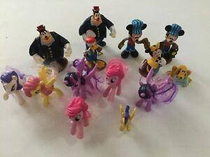 Disney Mickey and my little pony toys