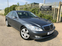 2007 57 Mercedes-Benz S320 CDI 3.0TD 7G-Tronic FMBSH 61K LOW MILES 1 OWNER NICE