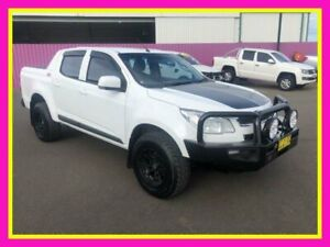 2015 Holden Colorado RG MY15 LS (4x4) White 6 Speed Manual Crew Cab Pickup Dubbo Dubbo Area Preview