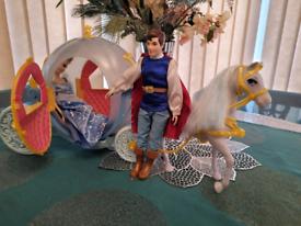 Mattel Cinderella Coach and Dolls