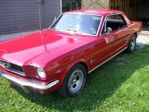 1964 1/2  TO 1966 Mustang Dash Pad
