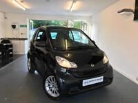2010 Black Smart ForTwo 1.0 MHD Passion 2 Door Petrol Auto Coupe